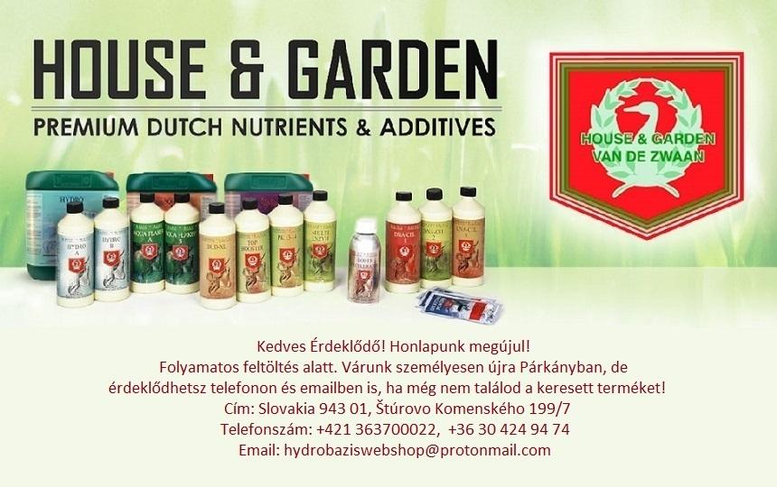 House Garden Banner