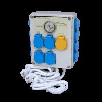 GSE Timer Box II időkapcsoló 12x600 Watt + Fűtés