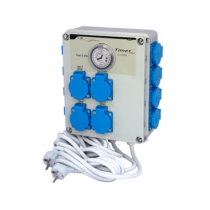 GSE Timer Box II időkapcsoló 12x600 Watt
