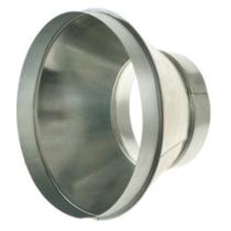 Légtechnikai Szűkítőelem Horgonyzott Lemezből Ø160 mm ->Ø125 mm