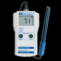 Milwaukee MW 100 hordozható pH mérő