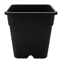 Négyzetes Cserép Fekete 30,5x30,5x31,6cm 18 liter