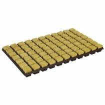 Grodan kőzetgyapot ültetőkocka tálcával 2x2 cm 150 db-os