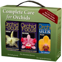 Growth Technology Orchid Focus Gift Pack 3x 100 ml