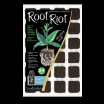 Growth Technology Root Riot ültetőkocka 24 darab műanyagtálcában