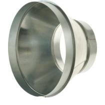 Légtechnikai Szűkítőelem Horgonyzott Lemezből 125 mm Ø > 160 mm Ø
