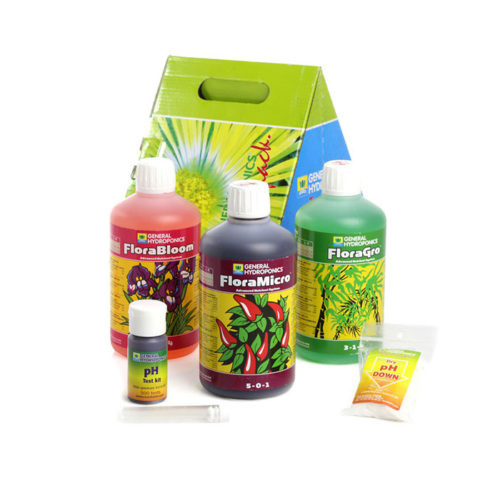 General Hydroponics Europe Terra Aquatica TRIPART® (Flora Series®) Tripack, Alaptápszer Csomag