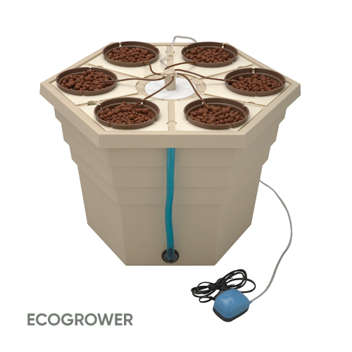 General Hydroponics Europe Terra Aquatica ECOGROWER®, Hydrorendszer