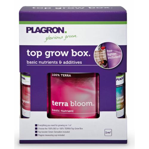 Plagron Top Grow Box Terra, Tápszercsomag
