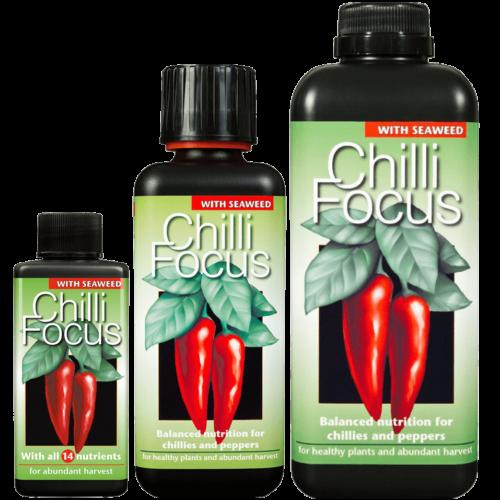 Growth Technology Chili Focus, chili tápoldat 1 liter