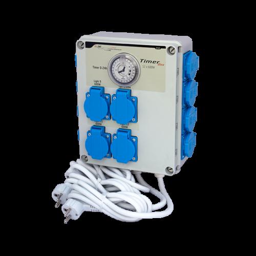 GSE Időkapcsoló 12x 600 Watt