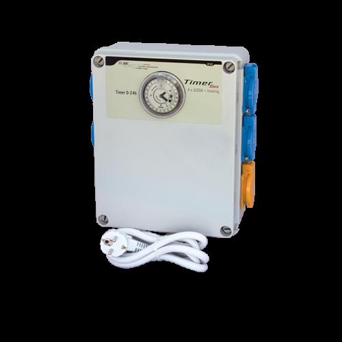 GSE Időkapcsoló 4x 600 Watt + Fűtés