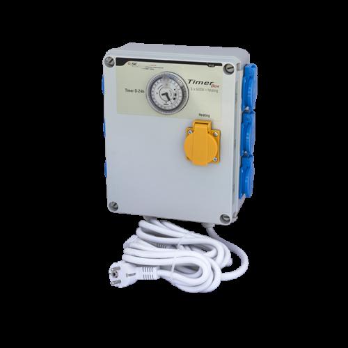 GSE Időkapcsoló 6x 600 Watt + Fűtés