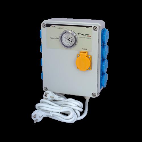 GSE Időkapcsoló 8x 600 Watt + Fűtés