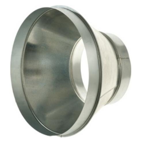 Légtechnikai Szűkítőelem Horgonyzott Lemezből 100 mm Ø > 125 mm Ø