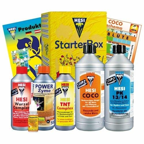 Hesi Starterbox Coco, Tápszercsomag