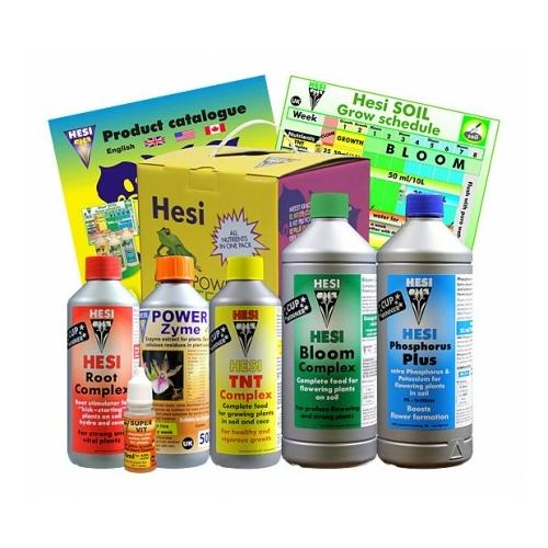 Hesi Starterbox Soil,Tápszercsomag