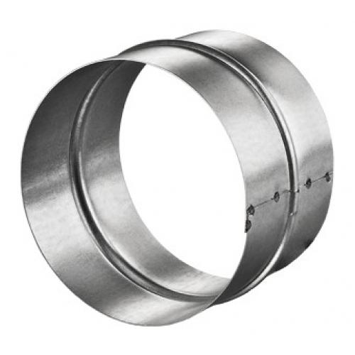 Légtechnikai Csatlakozó Idom Horgonyzott Lemezből 125 mm Ø
