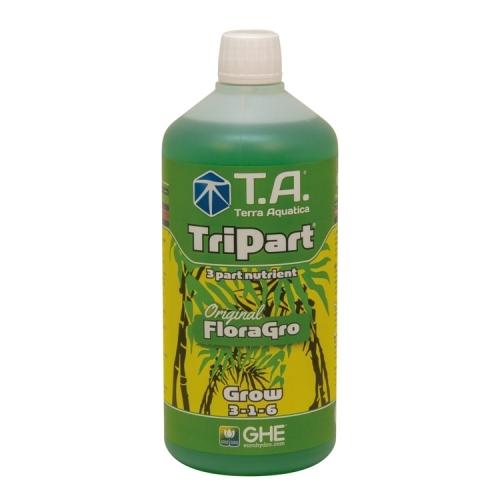 General Hydroponics Europe Terra Aquatica TRIPART® (Flora Series®) Grow, Aalptáp